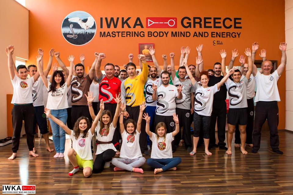 IWKA Wing Chun seminar in Greece
