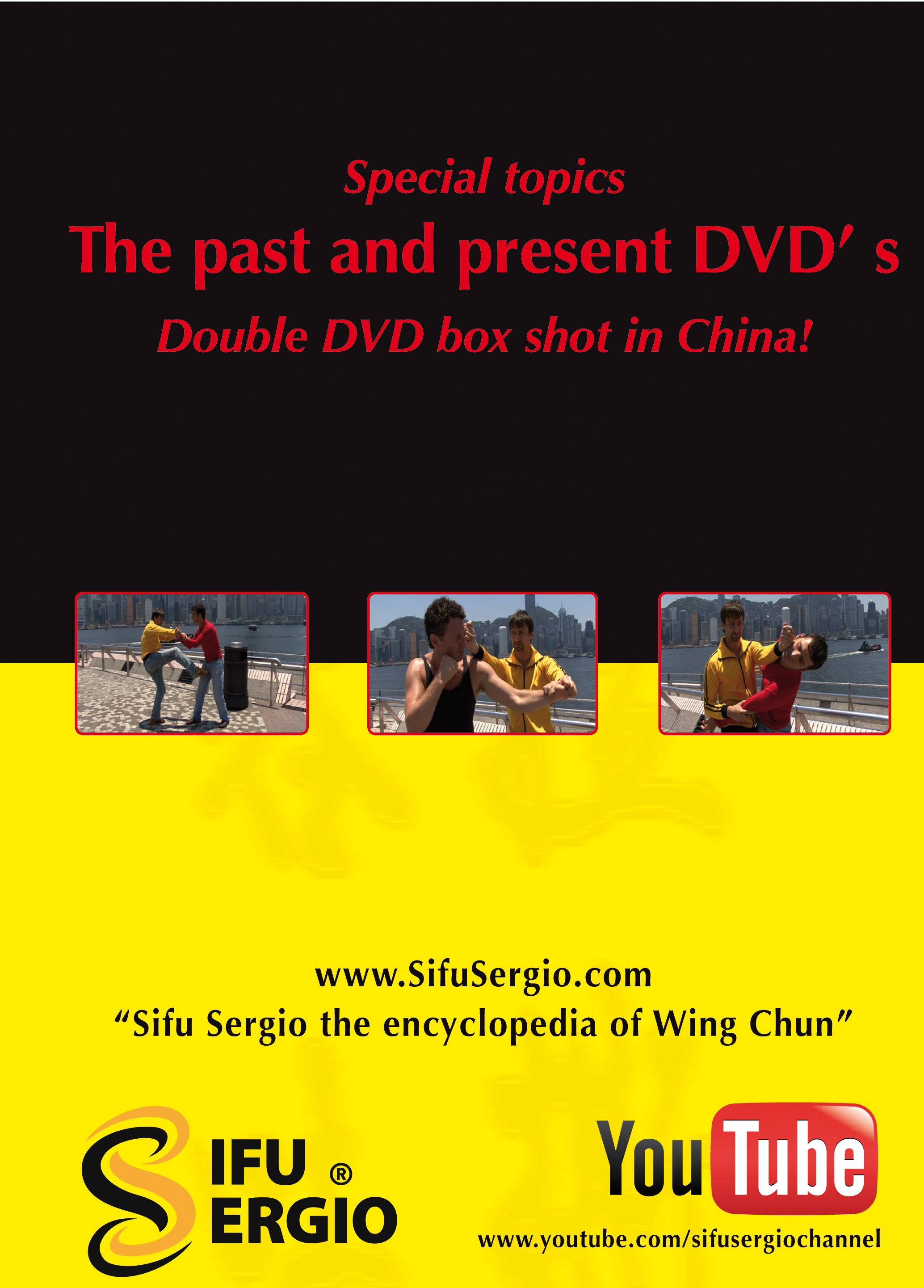 The Past and Present Double DVD